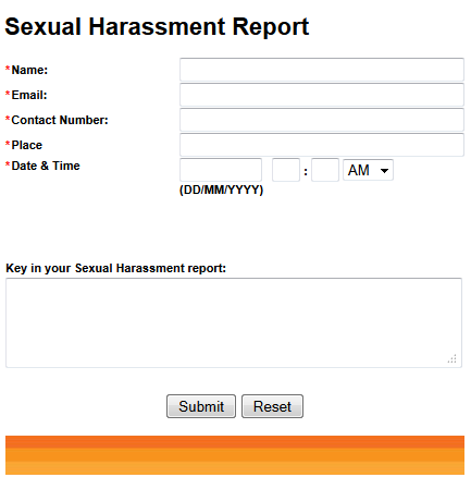 Sexual Harassment Report TM